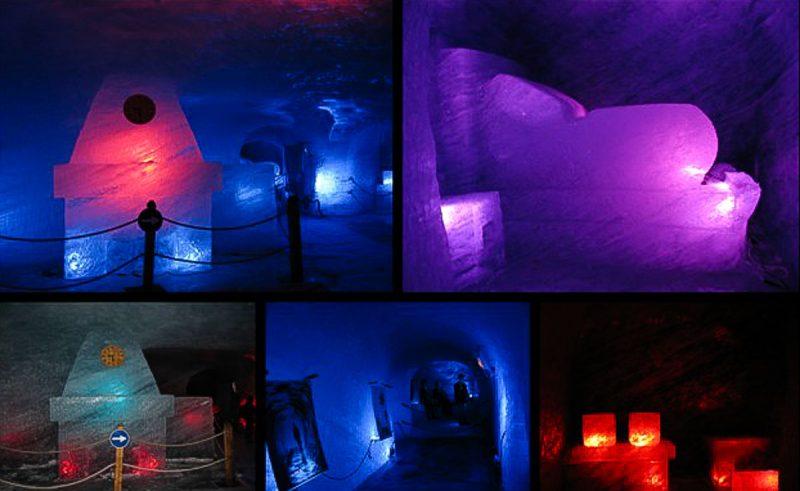 mer-de-glace-salas-esculpidas e decoradas