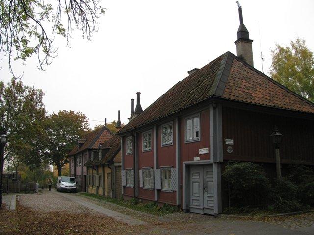Casas de Madeira em Slussen