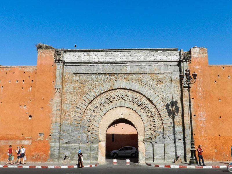 porta Bab Agnaou - Roteiro de Marraquexe