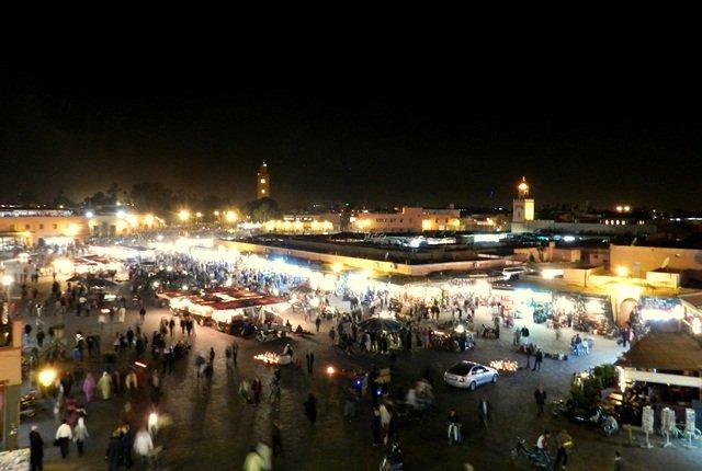 Praça Jemaa el-Fna (Djema el-Fnaa)