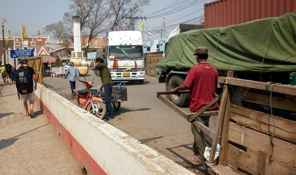 fronteira da Tailândia com o Camboja