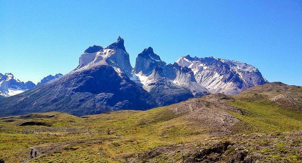Los Cuernos em no Parque Nacional Torres del Paine, Argentina