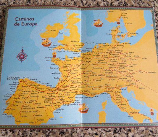 mapas do caminho de santiago