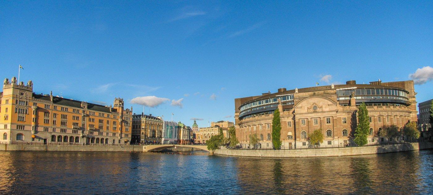estocolmo-Riksdagshuset