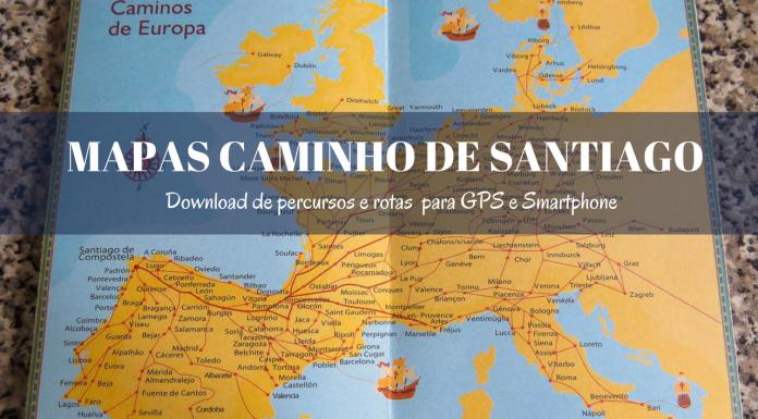Mapas Caminho de Santiago