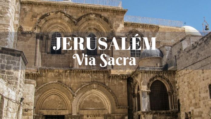 Via Sacra em Jerusalém