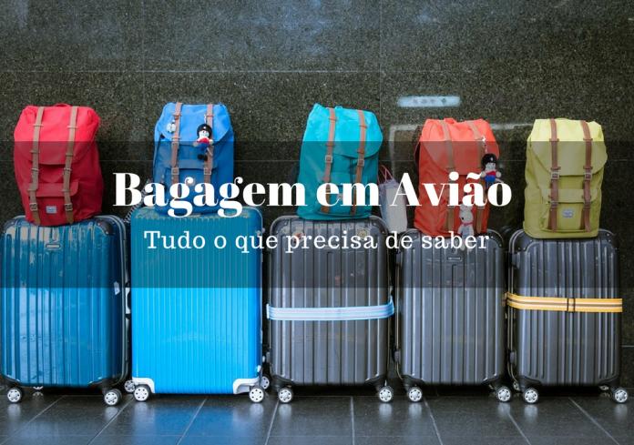 bagagem em avião