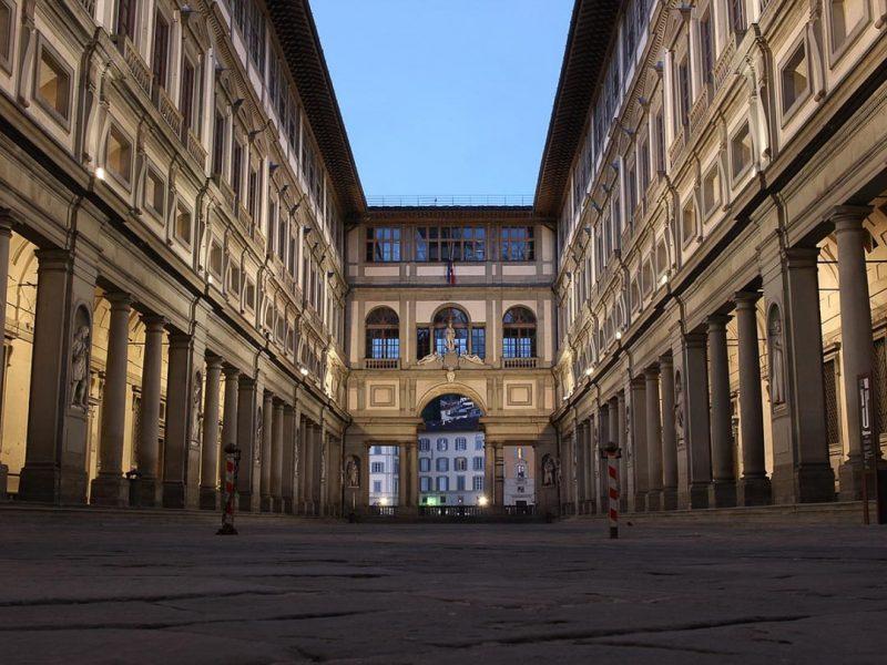florença-galeria-dos-uffizi