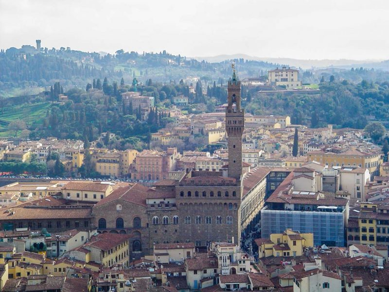 florença-palazzo-Vecchio-vista