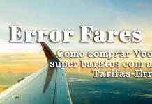 error fares (tarifas erro)