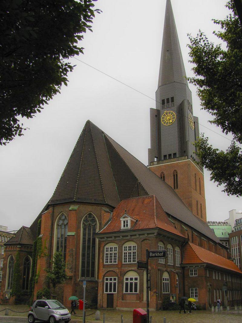 hamburgo-Hauptkirche St. Jacobi
