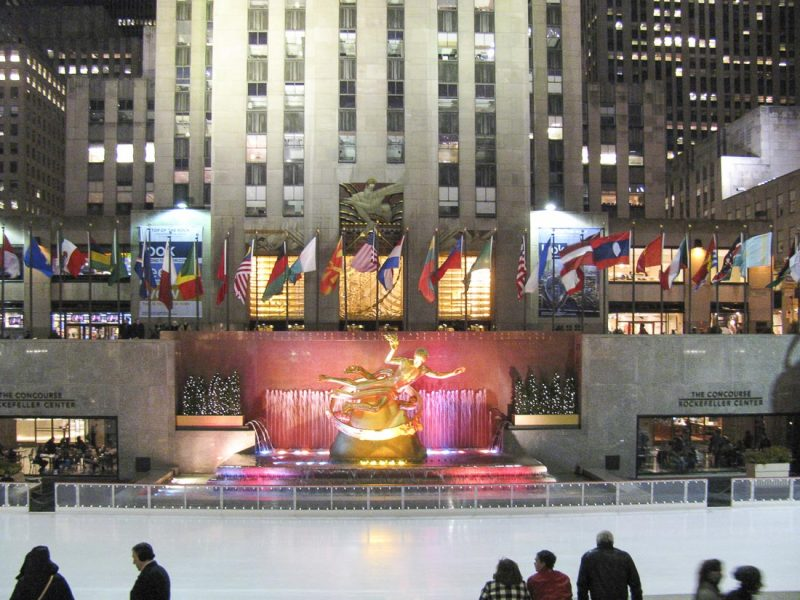 rockfeller center new york