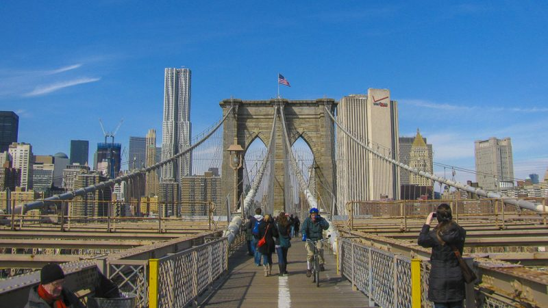 nova iorque brooklyn bridge