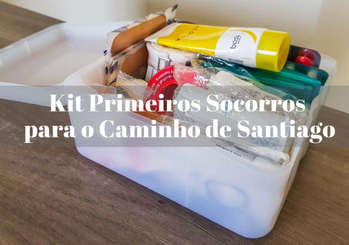 Kit Primeiros Socorros para o Caminho de Santiago