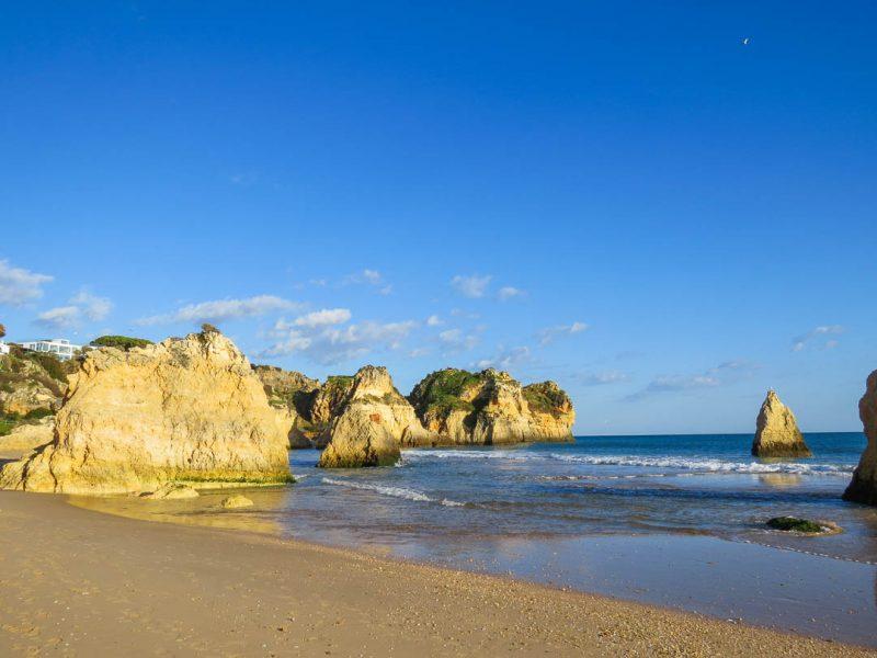 praia Três Irmãos - praias do Algarve