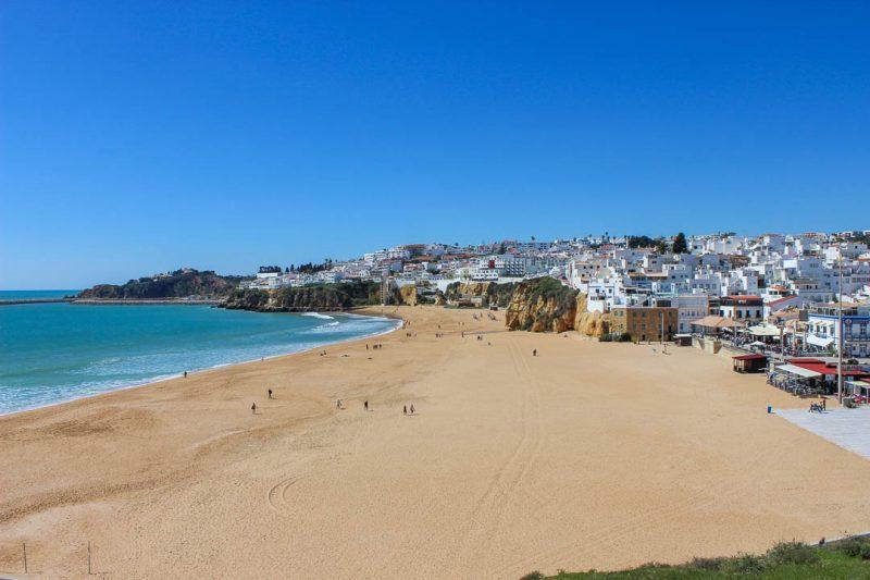 Praia dos Pecadores em Albufeira - praias do Algarve