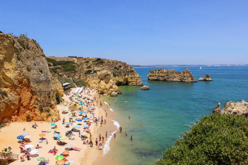 Praia Dona Ana - praias do Algarve