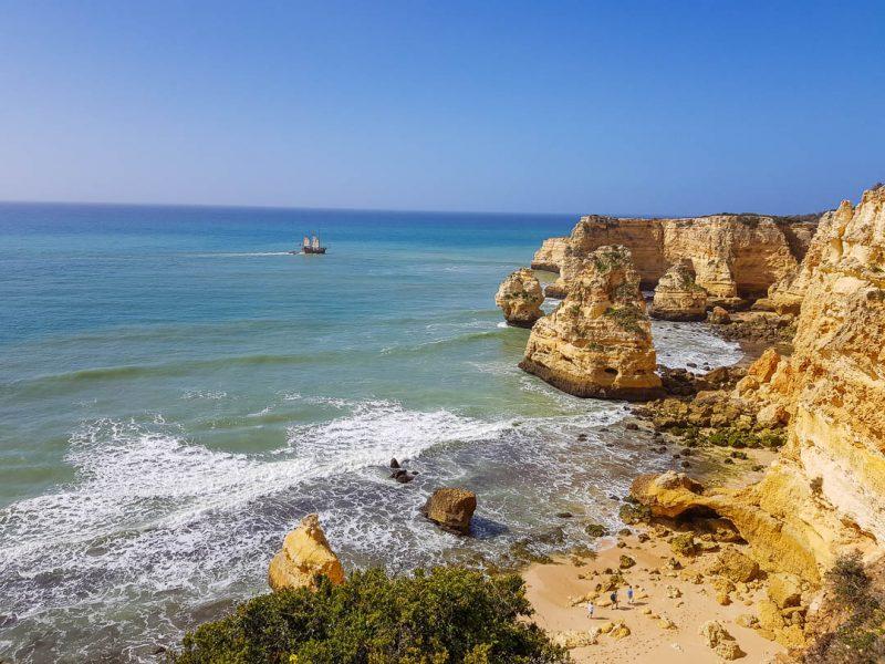Praia da Marinha - praias do Algarve