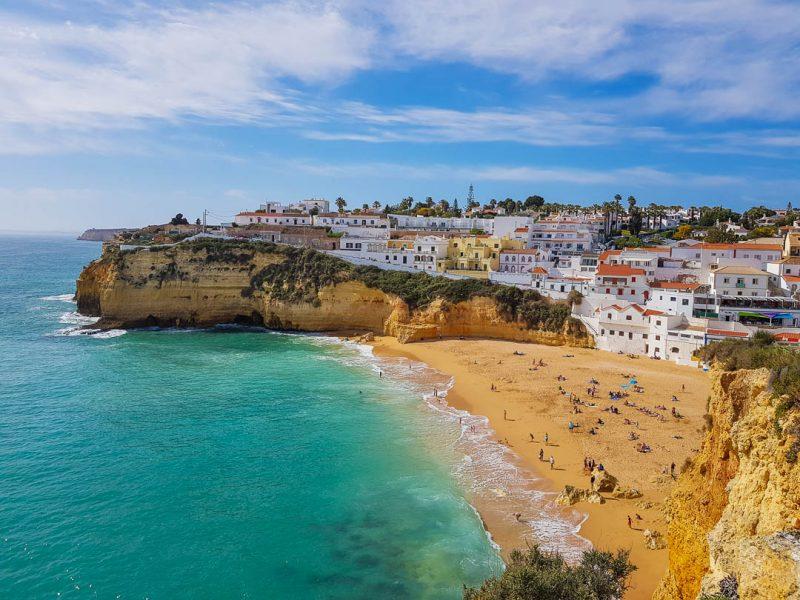 Praia do Carvoeiro - praias do Algarve