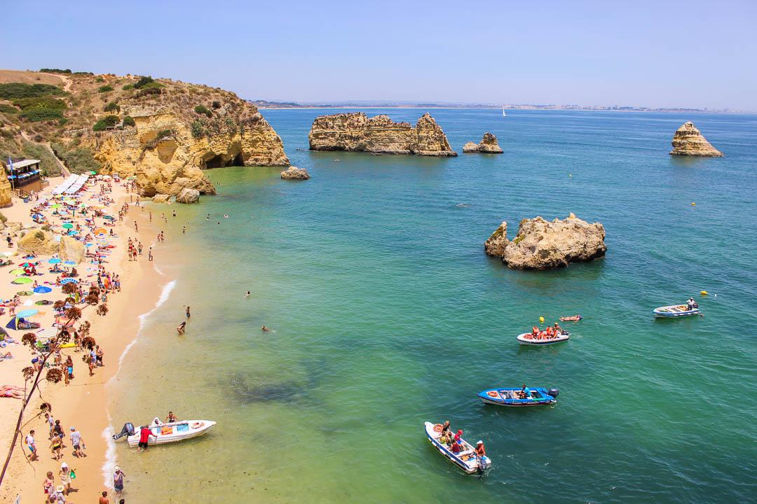 mapa das melhores praias do algarve As Melhores Praias do Algarve | Fotos e Mapa Interativo | VagaMundos mapa das melhores praias do algarve