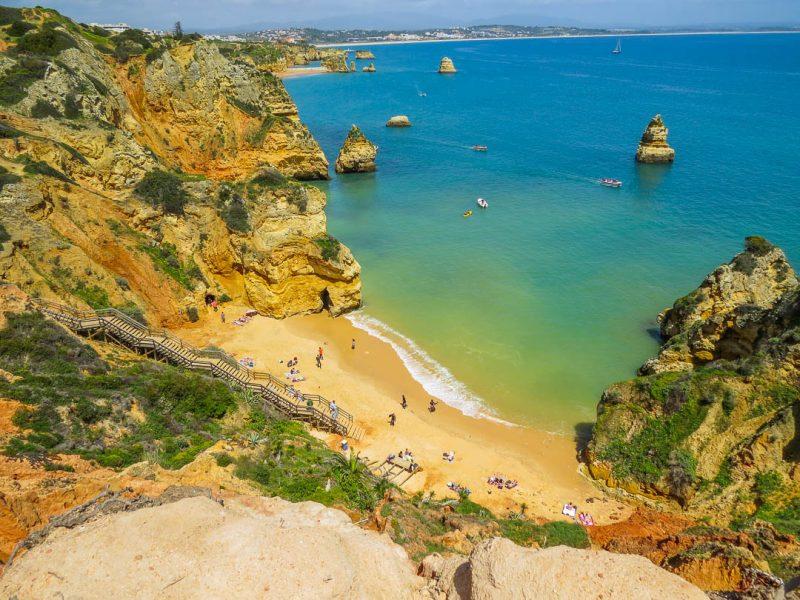 Praia do Camilo - praias do Algarve