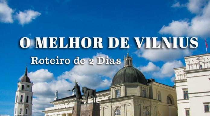 Roteiro Visitar Vilnius