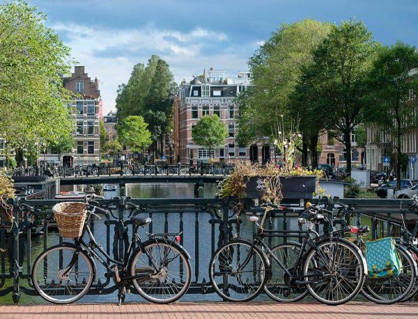 Bikes em Amsterdão
