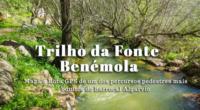 Percurso Pedestre da Fonte Benémola em Querença – Loulé (LLE PR16)| Mapa do Trilho e rota GPS