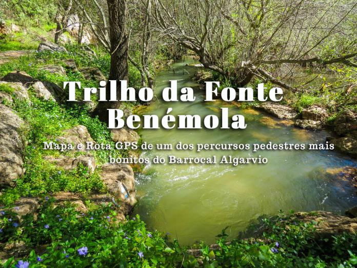 Percurso Pedestre da Fonte Benémola em Querença – Loulé (LLE PR16)  Mapa do Trilho e rota GPS