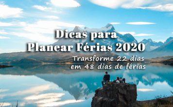 Férias 2020 - Feriados de 2020