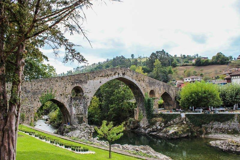 Ponte romana sobre o rio Sella - Cangas de Onis