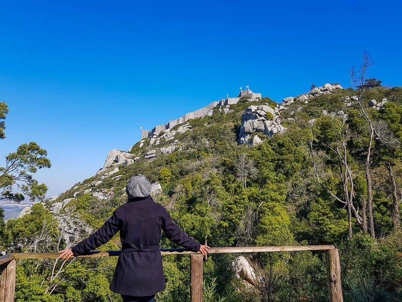 Passeios perto de Lisboa - Castelo dos Mouros em Sintra