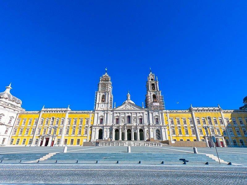 Palácio de Mafra - passeios de fim de semana de Lisboa