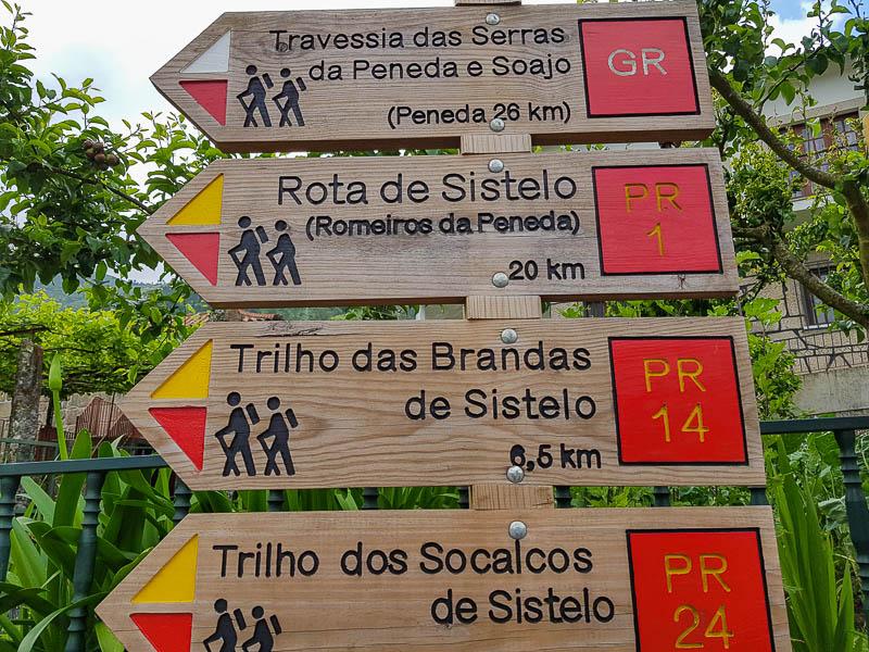 Trilhos Sistelo