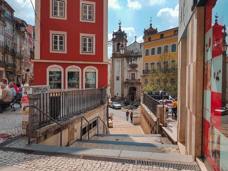 Visitar Coimbra Roteiro