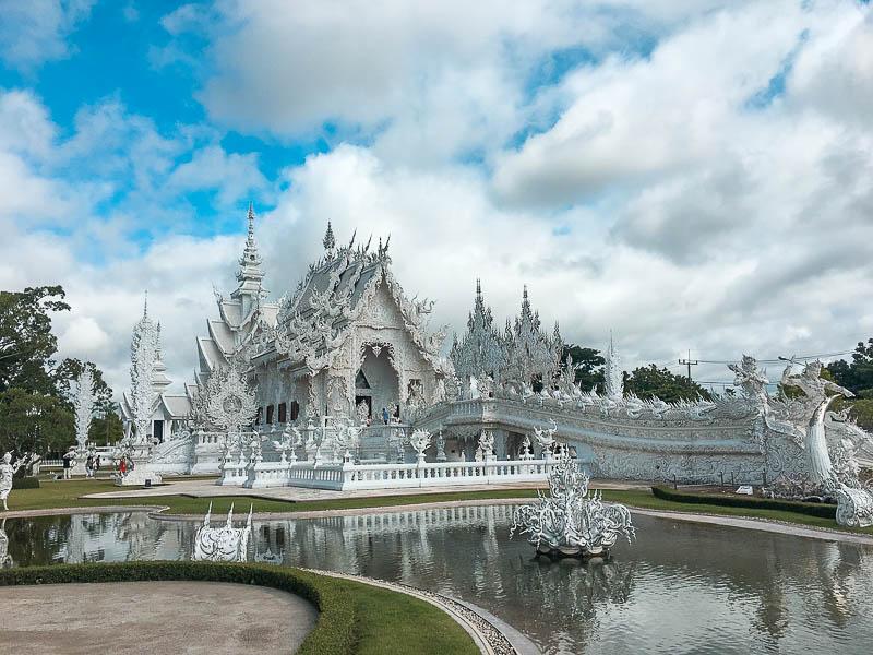 Templo Branco (Wat Rong Khun) de Chiang Rai