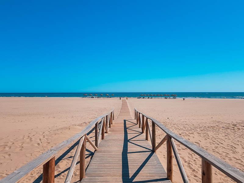 Playa Isla Canela - Praias Férias Sul de Espanha