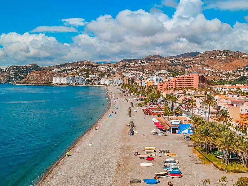 Almuñecar - Praias Férias Sul de Espanha