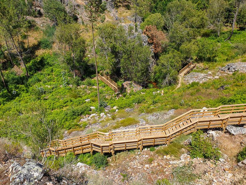 Passadiços do Orvalho e Cascata Fraga de Água d'Alta | GeoRota do Orvalho - PR3 Oleiros