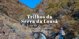 Trilhos da Serra da Lousã e Aldeias do Xisto – mapa com os percursos pedestres e rotas GPS
