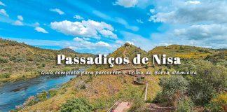 Trilho da Barca d'Amieira - Passadiços de Nisa (PR 11) | Ponte Suspensa e Miradouro Skywalk